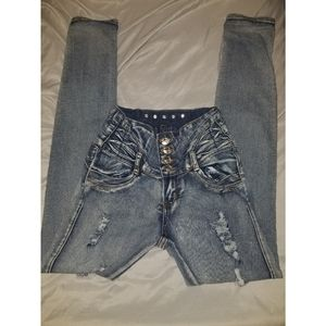 Size 5 Colombian Skinny Jeans (juniors)